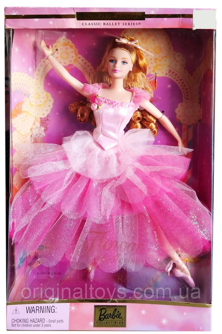 Колекційна лялька Барбі Квіткова балерина Лускунчик Barbie Flower Ballerina Nutcracker 2000 Mattel