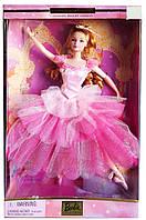 Коллекционная кукла Барби Цветочная балерина Щелкунчик Barbie Flower Ballerina Nutcracker 2000 Mattel, фото 1