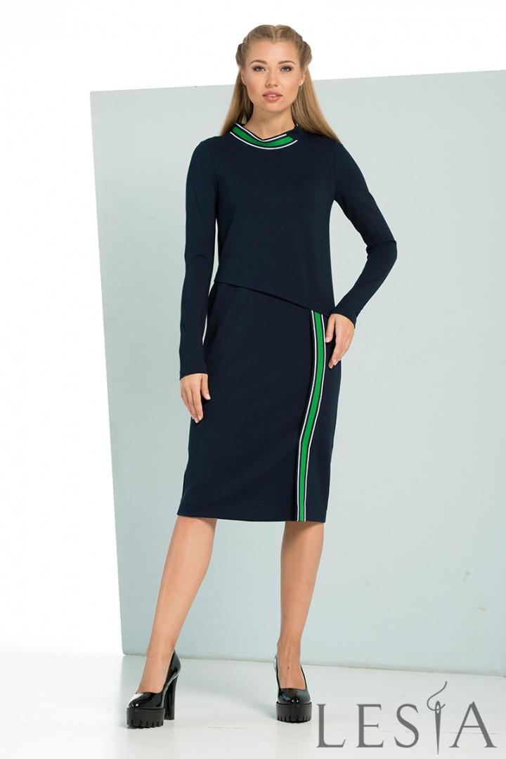 Трикотажне плаття в повсякденному стилі Lesya Ронита.