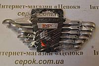 Ключі рожково-накидні з трещіткою ONEX GERMAN style 6шт, фото 1