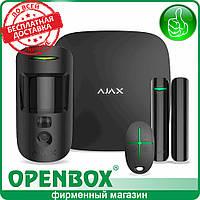 Комплект сигнализации AJAX StarterKit Cam (черный)