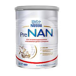 PreNAN (ПРЕНАН)  сухая молочная смесь, 400 г ПИТАНИЕ НЕДОНОШЕННЫХ ДЕТЕЙ И ДЕТЕЙ С МАЛЫМ ВЕСОМ С РОЖДЕНИЯ