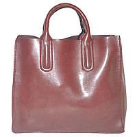 Женская сумка с красивыми ручками 01546562167377dark-purple фиолетовая