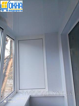 Балкон под ключ в Хрущевке, фото 2