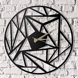 """Часы настенные металлические """"Contur"""" 50 см"""
