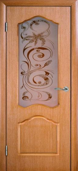 Распродажа межкомнатных дверей AРТ-С ПО дуб