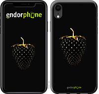 Силиконовый чехол Endorphone на iPhone XR Черная клубника 3585u-1560-26985, КОД: 1537406