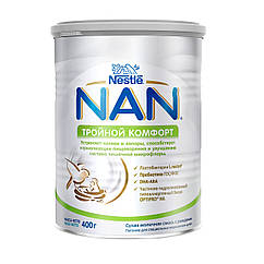 NAN ТРОЙНОЙ КОМФОРТ (НАН), 400 г. сухая молочная смесь