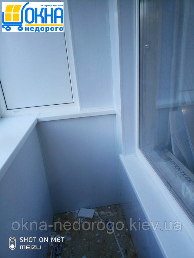 Балкон под ключ в Хрущевке - фото бригады №19