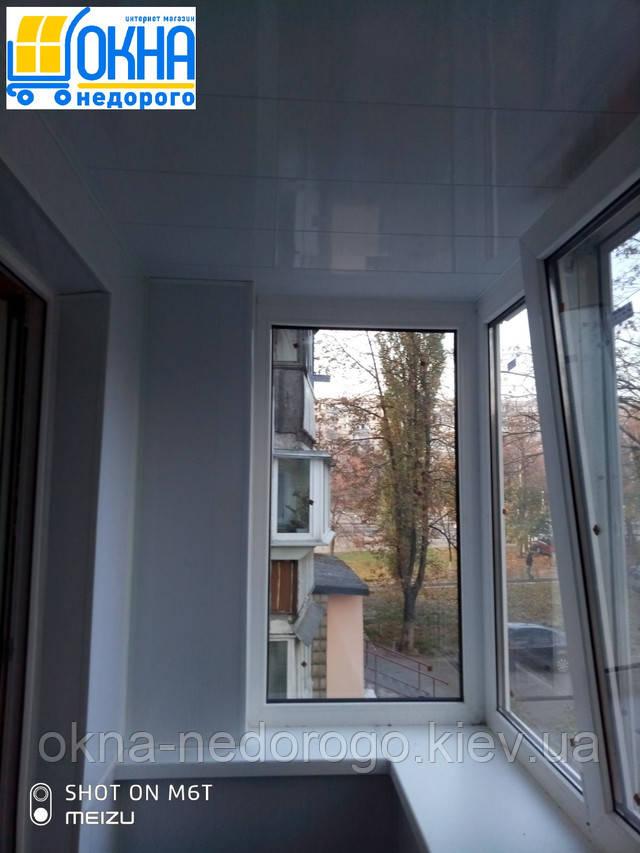 Балкон под ключ в Хрущевке - бригада №19