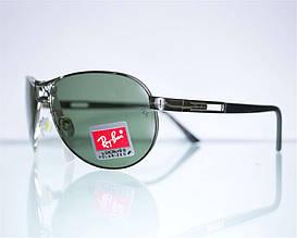 Очки Ray-Ban Aviator солнцезащитные 8125 Серебряные