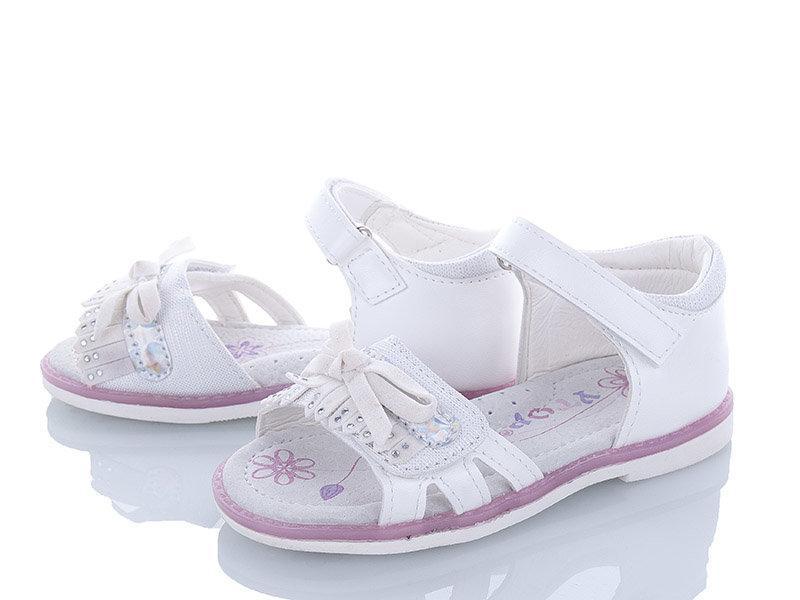 Белые босоножки для девочки