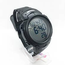 Часы мужские спортивные водостойкие SKMEI 1068 (Скмей), черные ( код: IBW274B )