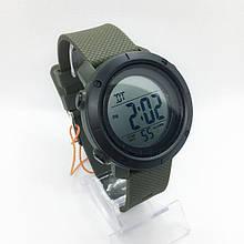 Часы мужские спортивные водостойкие SKMEI 1426 (Скмей) зеленые с черным ( код: IBW281GBO )