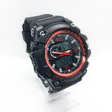 Часы мужские спортивные водостойкие SKMEI 1283 (Скмей) черный цвет ( код: IBW282BR )