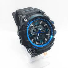 Часы мужские спортивные водостойкие SKMEI 1283 (Скмей) черный цвет ( код: IBW282BZ )