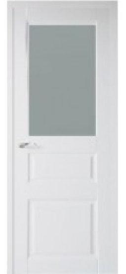 Распродажа межкомнатных дверей Рио Тесоро К2 ПО белая эмаль