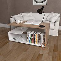 Столик журнальный, кофейный столик, придиванный стол из ДСП. КОД:S-7