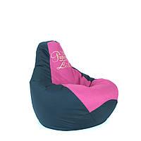 Безкаркасне крісло-мішок Груша Принт L, XL, XXL