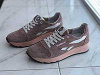 Кожаные женские кроссовки Reebok 16 пуд размер 39, фото 1