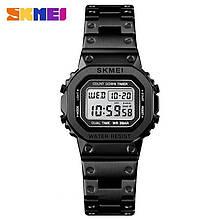 Часы мужские металлические SKMEI 1433 (Скмей), черный цвет ( код: IBW285Z )