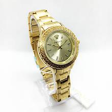 Часы женские наручные Versace (Версаче), золото ( код: IBW287Y )