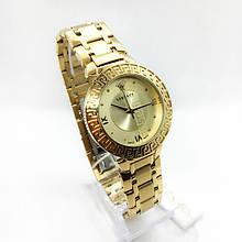 Часы женские наручные Versace (Версаче), цвет золотистый ( код: IBW286Y )