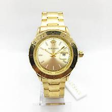 Часы женские наручные Versace (Версаче), золотистый цвет ( код: IBW288Y )