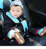 Детское автокресло бескаркасное с подголовником 9-36 кг