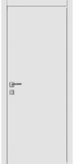 Распродажа межкомнатных дверей Щитовая белая эмаль