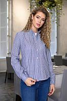 Рубашка женская в полоску  42514, фото 1