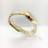 Часы женские наручные в стиле Mісhаеl Коrs (Майкл Корс), золото с черным циферблатом ( код: IBW309YB ), фото 3