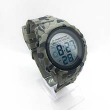 Часы мужские спортивные водостойкие SKMEI 1624 (Скмей), камуфляжные ( код: IBW279 )