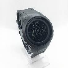 Часы мужские спортивные водостойкие SKMEI 1624 (Скмей), черный цвет ( код: IBW278B )
