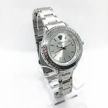 Часы женские наручные Versace (Версаче), серебро ( код: IBW287S )
