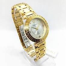 Часы женские наручные Versace (Версаче), цвет золотистый ( код: IBW286YS )