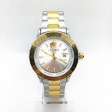 Часы женские наручные Versace (Версаче), цвет золото с серебром ( код: IBW288YS )