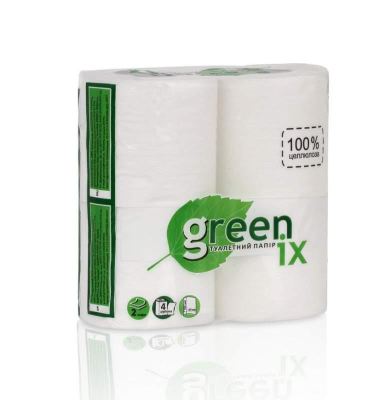 Туалетний папір, біла 60 рулоновв спайці 15 шт по 4 рулону в упаковці по 20 м кожен, 155 отр
