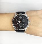 Часы мужские наручные Tiссot, на силиконовом ремешке, цвет серебро ( код: IBW301SB ), фото 5
