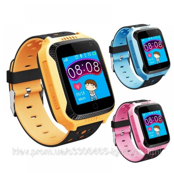 Детские Смарт Часы Q529 ( синие, розовые, черные) без камеры ( Едут q60 )