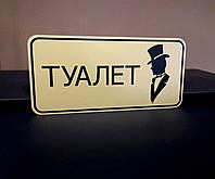 Табличка для чоловічого туалета