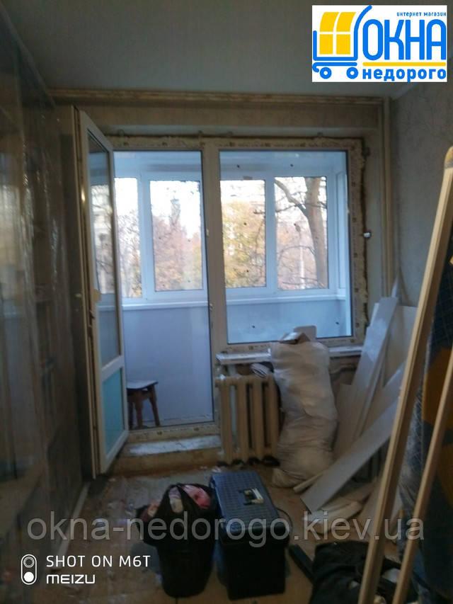 Балконный блок OpenTeck Киев ул. Покотило фото бригады 19