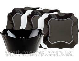 Столовий сервіз Luminarc Authentic Black&White 19 предметів