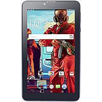 Планшет 7 LESKO Call 1 16GB игровой 2SIM 4 ядра Android 6 IPS экран Черный 2055-5307, КОД: 1391912