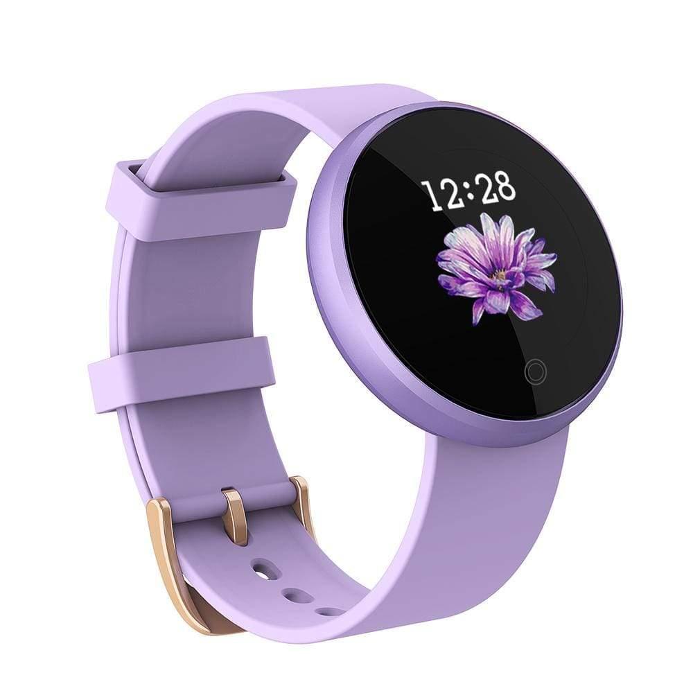 Фитнес-часы женские Bozlun B36 Lady SmartWatch сиреневые ( код: IBW270F )