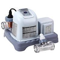 Хлорогенератор с автотаймером Intex 28668 Серый int28668, КОД: 109581