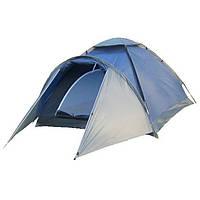 Палатка туристическая Zefir pro 4 клеенные швы, 3500 мм