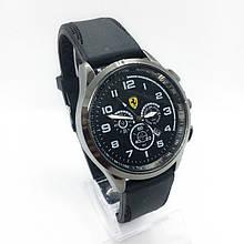 Часы мужские наручные Ferrari (Феррари), цвет черный ( код: IBW304B )