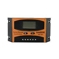 Контроллер для солнечной батареи Raggie RG-501 20A Черный hubnp21203, КОД: 666850