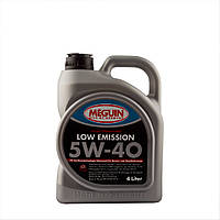 Масло  моторное MEGUIN LOW EMISSION SAE 5W40 4л